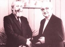 Двама големи българи – Стефан Продев и Петър Увалиев. Снимка Иван Бакалов