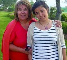 Марта с дъщеря си Рада