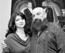 Астор с дъщеря си