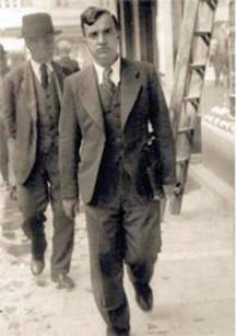 Хаджийски като студент по право в София