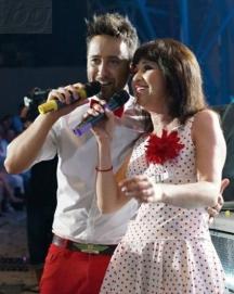 Ралица в дует с певеца Георги Дюлгеров на фестивала