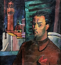 Флорентински автопортрет, 1961 Собственост семейство Левиеви