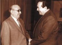 Среща на Тодор Живков с мултимилионера