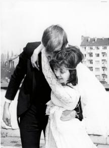 Младоженците Меглена Кунева-Пръмова и Андрей Пръмов