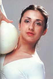 Един от коронните уреди на Анелия Раленкова в художествената гимнастика бе топката