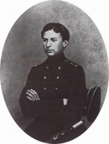 Василий Верешчагин като кадет
