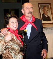 Писателят заедно с радиолегендата Божана Димитрова