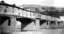 Първият покрит мост в Ловеч, построен от майстор Фичето