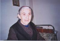 Евдокия Ковачева от Дивля. Снимката е от началото на 21 век.