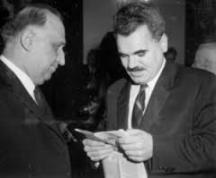 Тодор Живков и Георги Боков, член на Секретариата на ЦК на БКП
