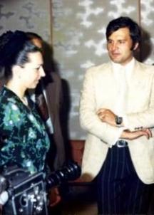 Людмила с втория си съпруг Иван Славков-Батето