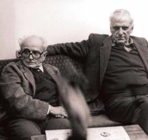 Двама големи приятели, двама антифашисти - Валери Петров и Христо Ганев