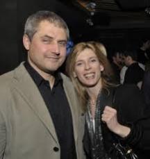 Със съпруга д-р Чавдар Нинов.