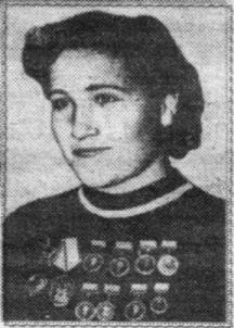 Шампионката Надежда Ивановна Пряхина