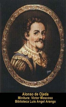 Портрет на Алонсо де Охеда