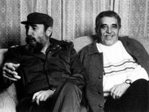 Двамата големи мъже - Фидел Кастро и Габриел Гарсия Маркес