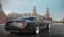 Виртуалият образ на новия ЗИЛ на Червения площад в Москва