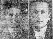 Убийците Христо (Ицо) Сантов и Георги Илиев-Дезертьора (вдясно)
