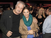 Елен Колева с втория си баща - актьора Любомир Бояджиев.   Снимки: LOVEstyle