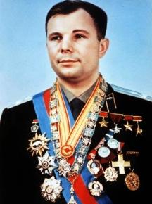 Юрий Гагарин след историческия си полет