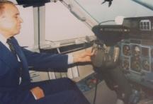 Летецът си остава летец и след пенсионирането си