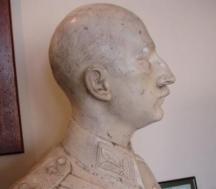 Бюст на цар Борис, дело на художника