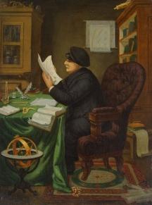 Д-р Петър Берон - портретът е рисуван от художника Николай Павлович