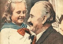 Момиченцето с Георги Димитров - тази популярна снимка е от детството на режисьорката. Тя е в обятията на вожда. Снимката бе публикувана в тогавашното списание