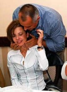 Снимка от годините, когато Бойко Борисов не криеше ласките си с банкерката