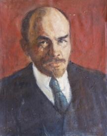 Портрет на В.И.Ленин - проф. Бойчо Григоров